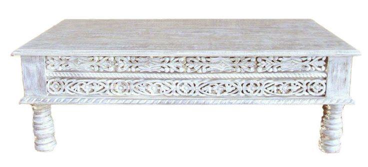 120x60 cm oosterse meubelen, geven een oosters tintje aan elk interieur. Indiase Tafels, nachtkastjes, kasten, kapstokken met met massief hout en mozaïek