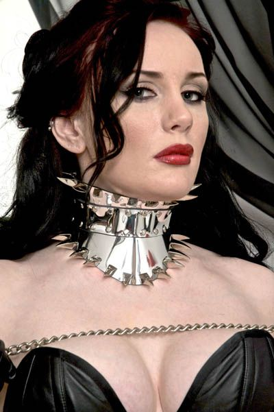 Prong Jewellery Mirror Corset Collar What Submissive
