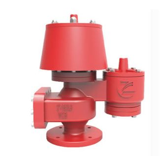 QZF-89 Atmospheric pressure vacuum relief valve with flame arrestor - Equipmentimes.com