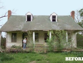 Old House in Mississippi BEFORE
