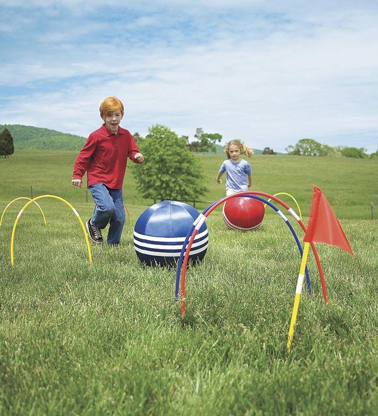 Kick Croquet Kids Outdoor Game