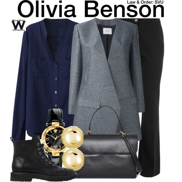 Inspired by Mariska Hargitay as Olivia Benson on Law & Order SVU