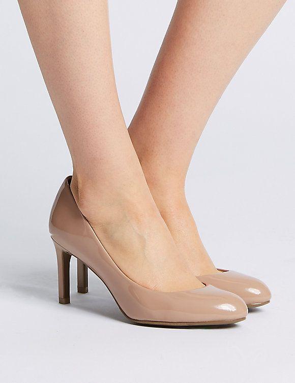 Wide Fit Stiletto Heel Court Shoes | M