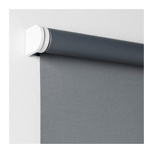 Ikea Tupplur Gray Blackout Roller Blind For Park Man And