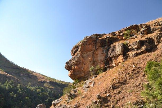 Gxalingenwa, Drakensberg, Mkhomazi Wilderness area, South Africa — by Earthseeing. I found a giant turned to stone, while hiking the Gxalingenwa trail in Drakensberg, South Africa. More info here:...