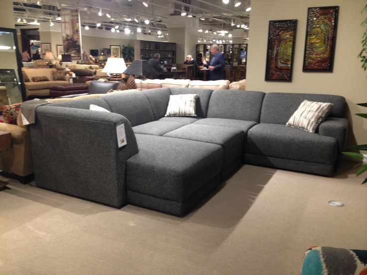England Furnitureu0027s Top Selling Sectional Has Added More Pieces! Highpoint  Furniture Market. In Store Now! Nov 2015 | In The Living Room | Pinterest |  Tops, ...