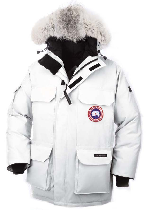 Canada Goose Expedition Parka White Mens