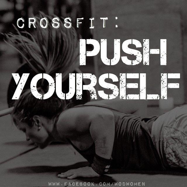 Image result for crossfit push yourself
