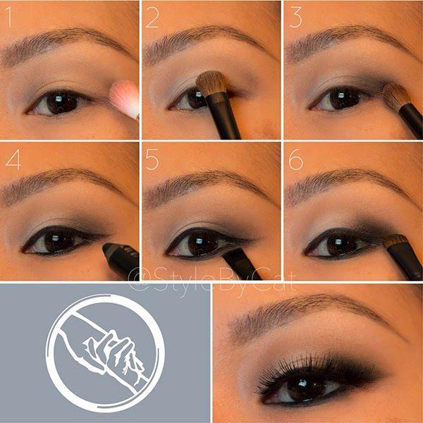Divergent Makeup: Abnegation. Grey smokey eye tutorial.