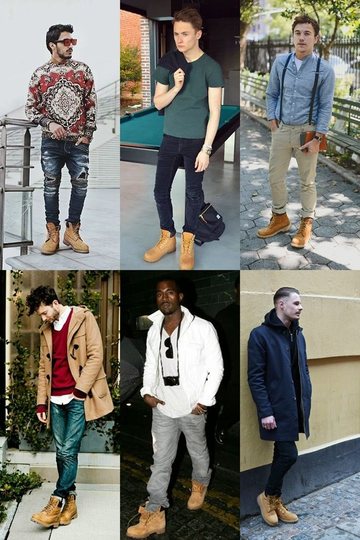 Baú da Moda Masculina: Yellow Boots: Como usar as famosas botas amarelas