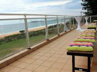 view from narrabeach function room
