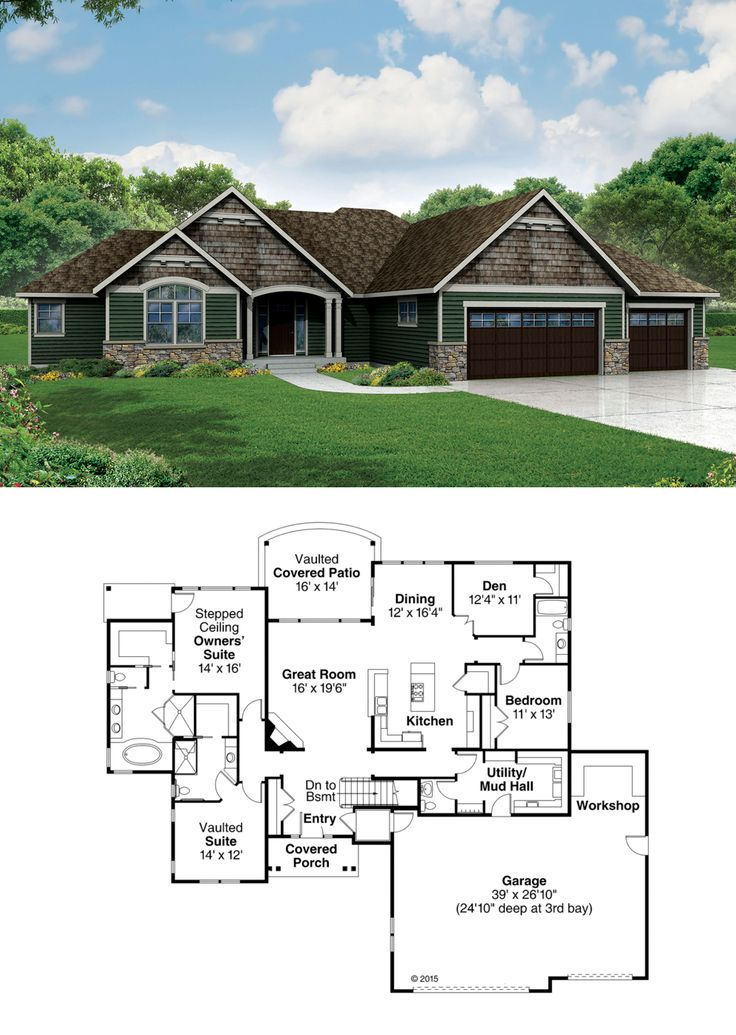 10 ideas about ranch house additions on pinterest house for Addition plans for ranch homes