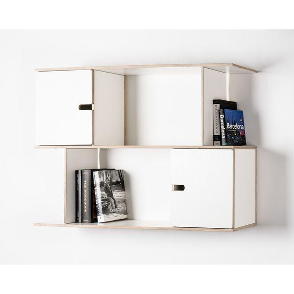 Kleines Wandregal Design Weiss Holz Kaufen Mobel Fur Kleine Raume