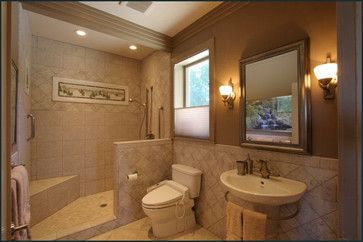 Doorless showers google search for the home bathroom - Doorless shower designs for small bathrooms ...