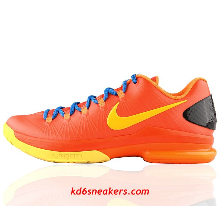 Nike Zoom KD V ELITE Team Orange DMV Kevin Durant Basketball shoes #KD #5