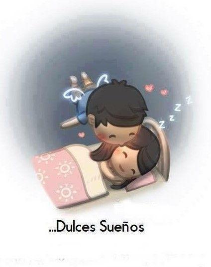 ilustración amor es dulces sueños