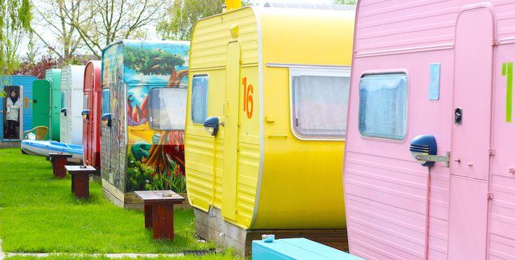 Love to get cozy? Stay in a teeny weeny caravan hostel in The Netherlands