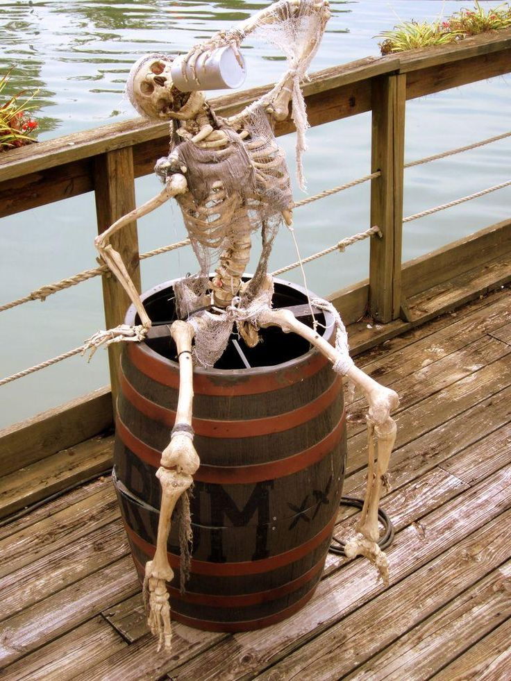 Next year this fellow is going on my deck! I will have to find a friend for him. Never drink alone