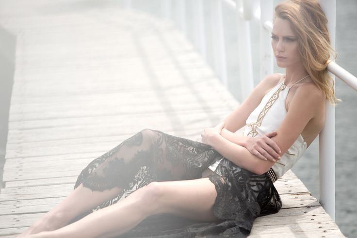 IXIAH TRIGGERMANN COLLECTION Reverie Beaded Dress and Rajah Beaded Skirt