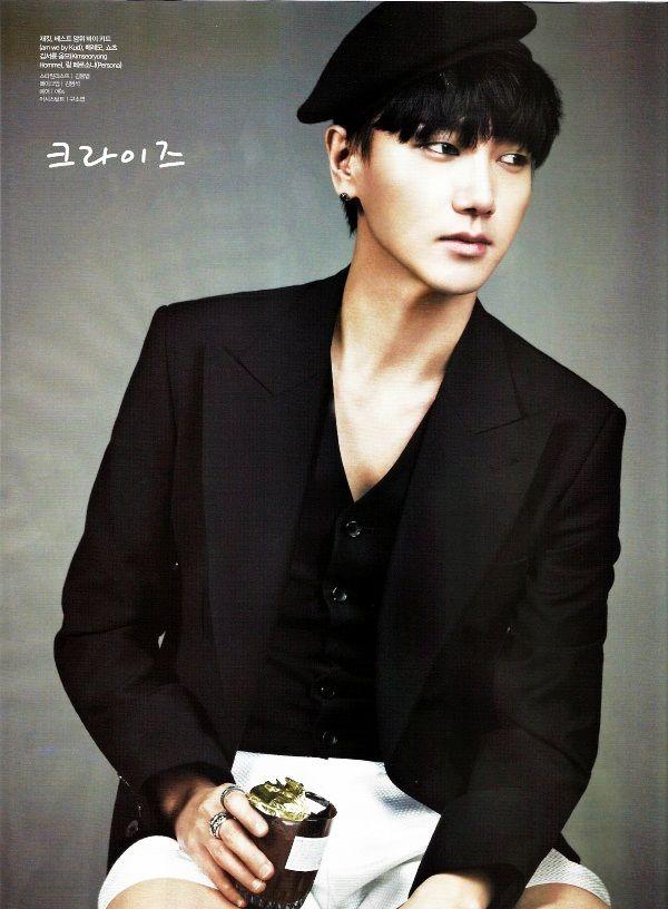 Super Junior Yesung - Ceci Magazine March Issue '13