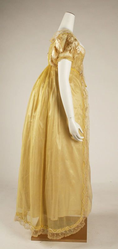 British dress. 1811.  Met Museum of Art