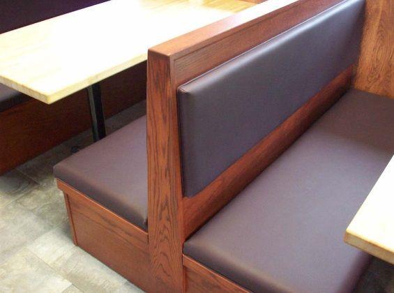 reupholster restaurant booths http://beckensteinfabrics.com/blog/restaurant-booth-upholstery-nyc/