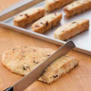 "Lemon Anise Biscotti - ""With the growing popularity of gourmet coffees, cappuccino and espresso,"" Carrie Sherrill notes in Forestville, Wisconsin, ""I'm finding lots of people enjoy these classic Italian dipping cookies."" Taste of Home"