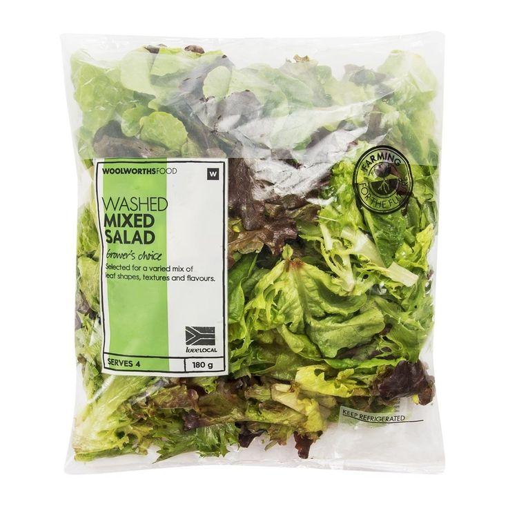 Washed Mixed Salad 180g