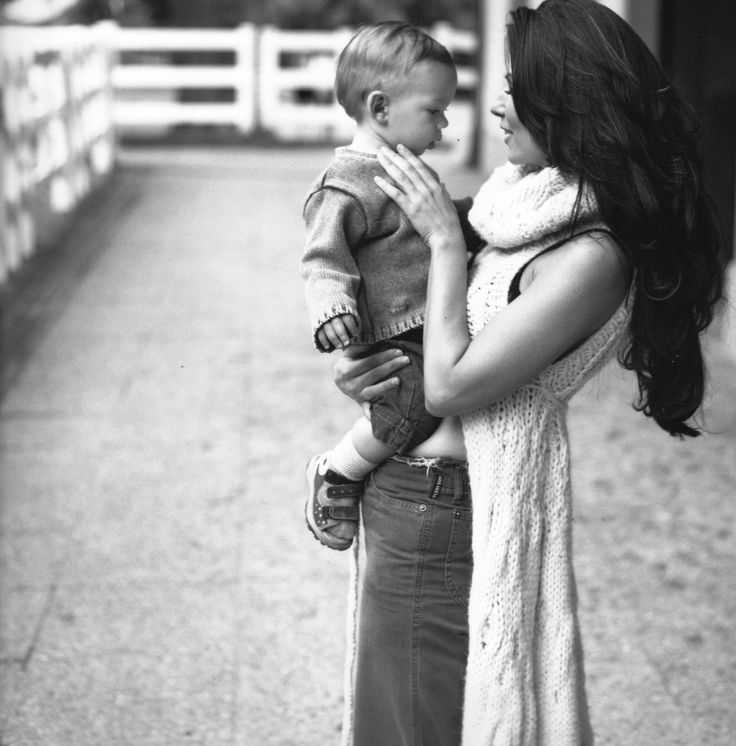one of my favourites of Shania Twain and her son Eja ❤