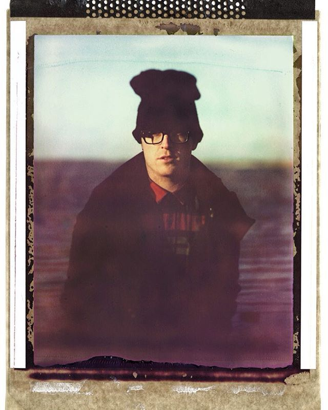 Chris aka ROBOTNIK. We did couple of Polaroids back in Dublin some time ago. Really cool bloke, he resides in Berlin now, would love to see him playing live again some time!