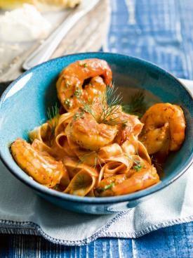 Scampi's met pasta in tomatensaus | Spar