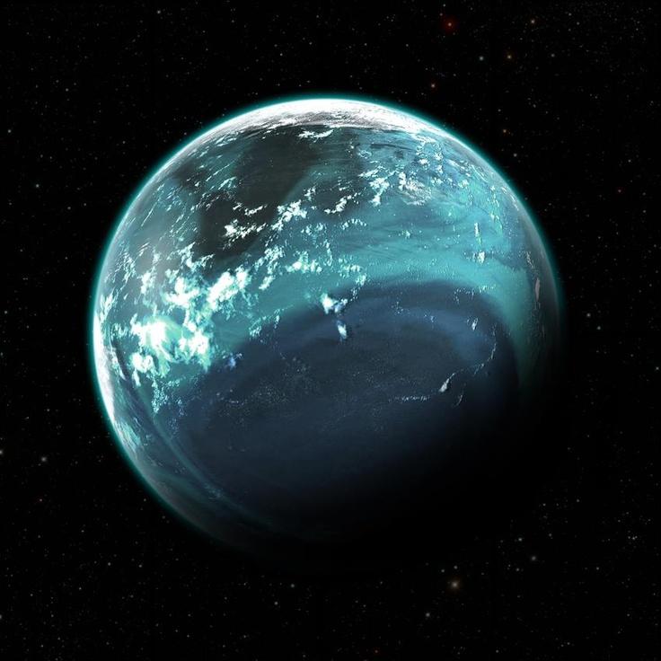 Terraformed Europa (Jupiter's icy Moon) Europa is slightly ...