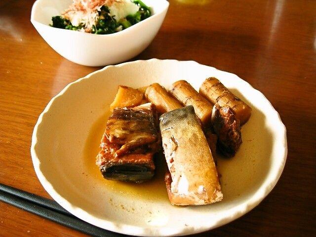 圧力鍋で骨まで食べられる鯖の味噌煮