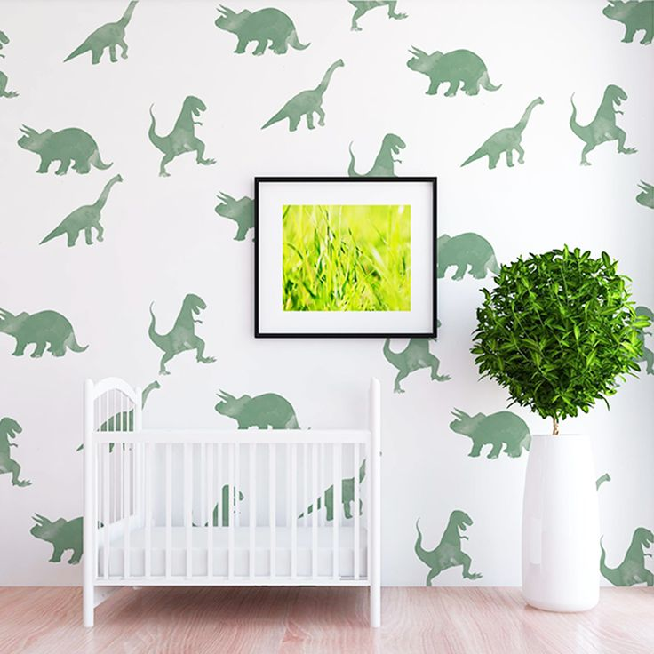 Rex Dinosaur Wall Decal Set – Shop Project Nursery
