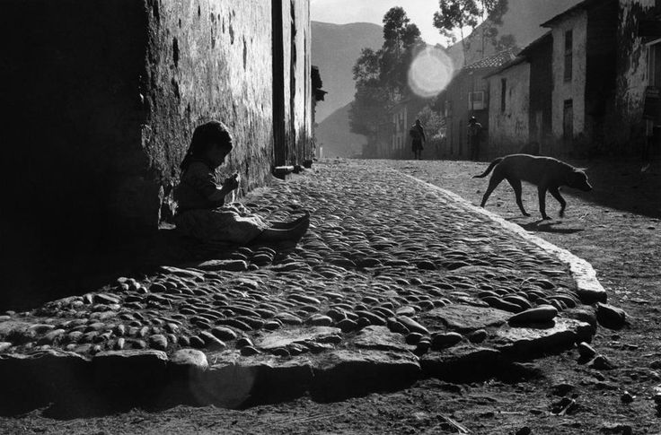 Sergio Larraín - The Inca Empire, Pisac, Peru, 1960   From Magnum Photos
