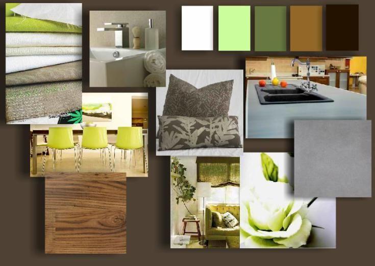 Design Presentation Board - Moodboard created by Rae de Leon
