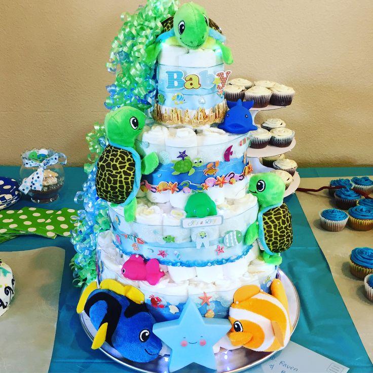 Best 25+ Turtle diaper cakes ideas on Pinterest