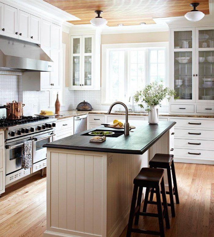 évier castorama dans la cuisine chic avec meubles sous évier
