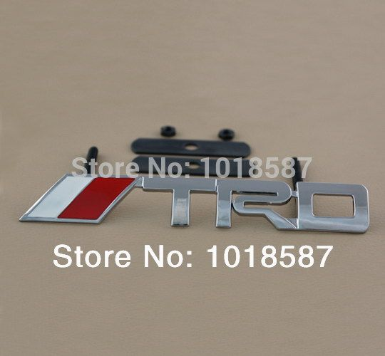 Find More Stickers Information about Front Grille 3D Metal for Toyota TRD Car…