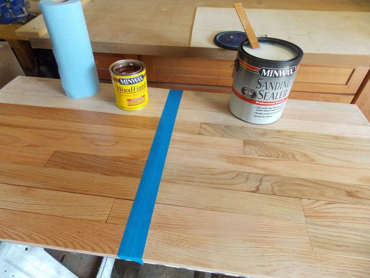 Ultimate Floor Finish Minwax Blog Red oak stain, Red