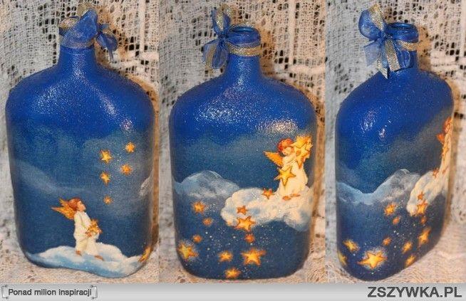 butelka decoupage - Αναζήτηση Google