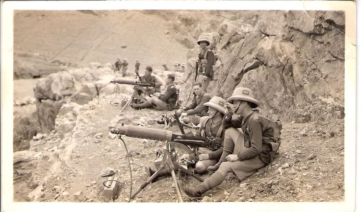 Kings Regiment-Liverpool, Kyber Pass, Northwest Territories circa pre 1939.