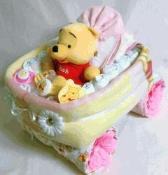 Winnie the Pooh Diaper Car