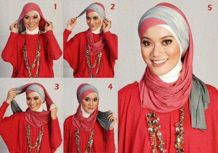Hijab Tutorial By Moshaict