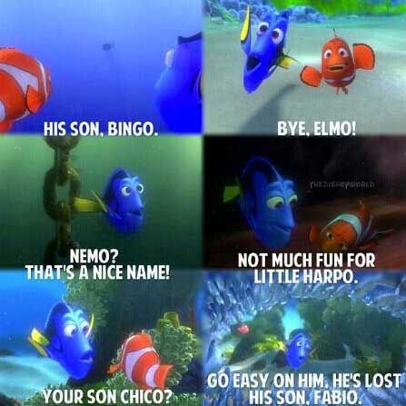 Focus:  who needs it?  Dory did just fine without it!