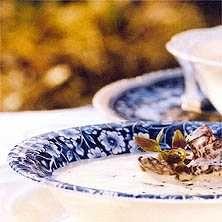 Soppa med kantareller och jordärtskocka
