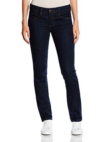 TOM TAILOR Women's Jeans  manufacturer: TOM TAILOR model: Alexa article material: 98% cotton, 2% elastane features:�  waist: medium-wasted wedge: normal-length Pattern: unicolour Fit/cut: tapered season: all-season article Cut: Slim fit Style: Basic Material type: denim Pockets: five-pocket style Closure: button and zip Additions: decorative contrast stitching    Uncomplicated fashion that knows how to combine sporty details with classic lines. For every occa
