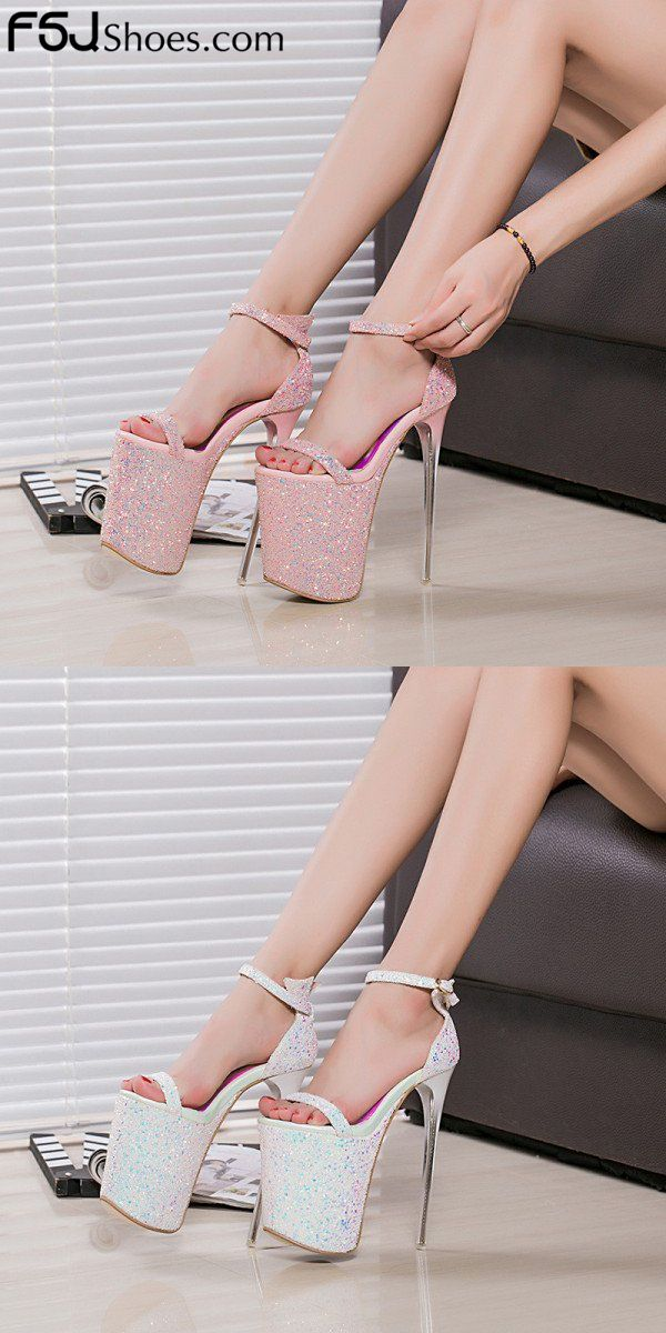 Womens Stiletto Pumps High Heels club Casual Ankle Strap Sandals Shoe All Chz