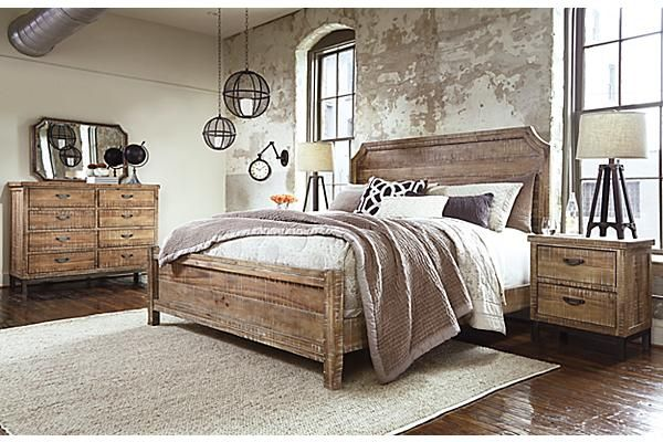 the fanzere panel bed from ashley furniture homestore afhscom art decor pinterest bedrooms art decor and room ideas - Ashley Furniture Bed Frames