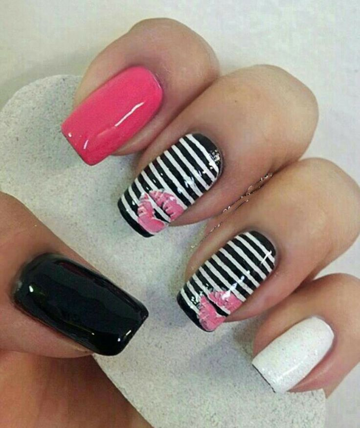 117 best uñas images on Pinterest | Nail design, Cute nails and Nail art